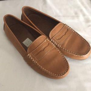 Polo Ralph Lauren men's sz 7 shoes loafers leather
